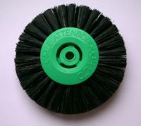2 Row 65mm Black Bristle Lathe Brush